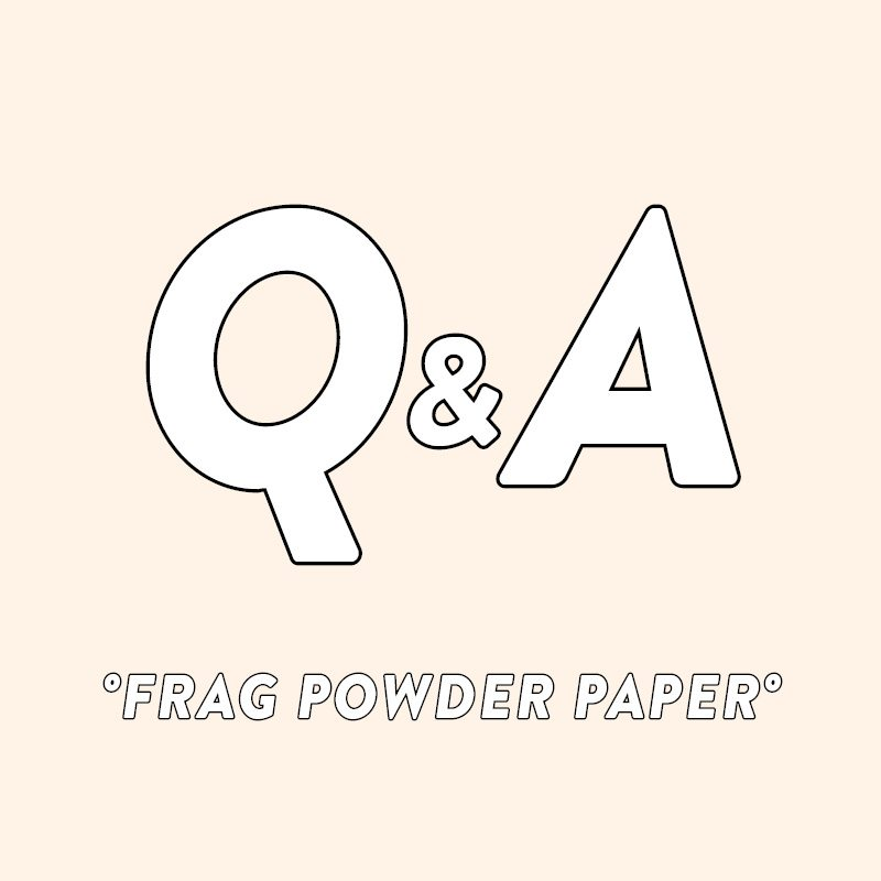 Frag Powder Paper