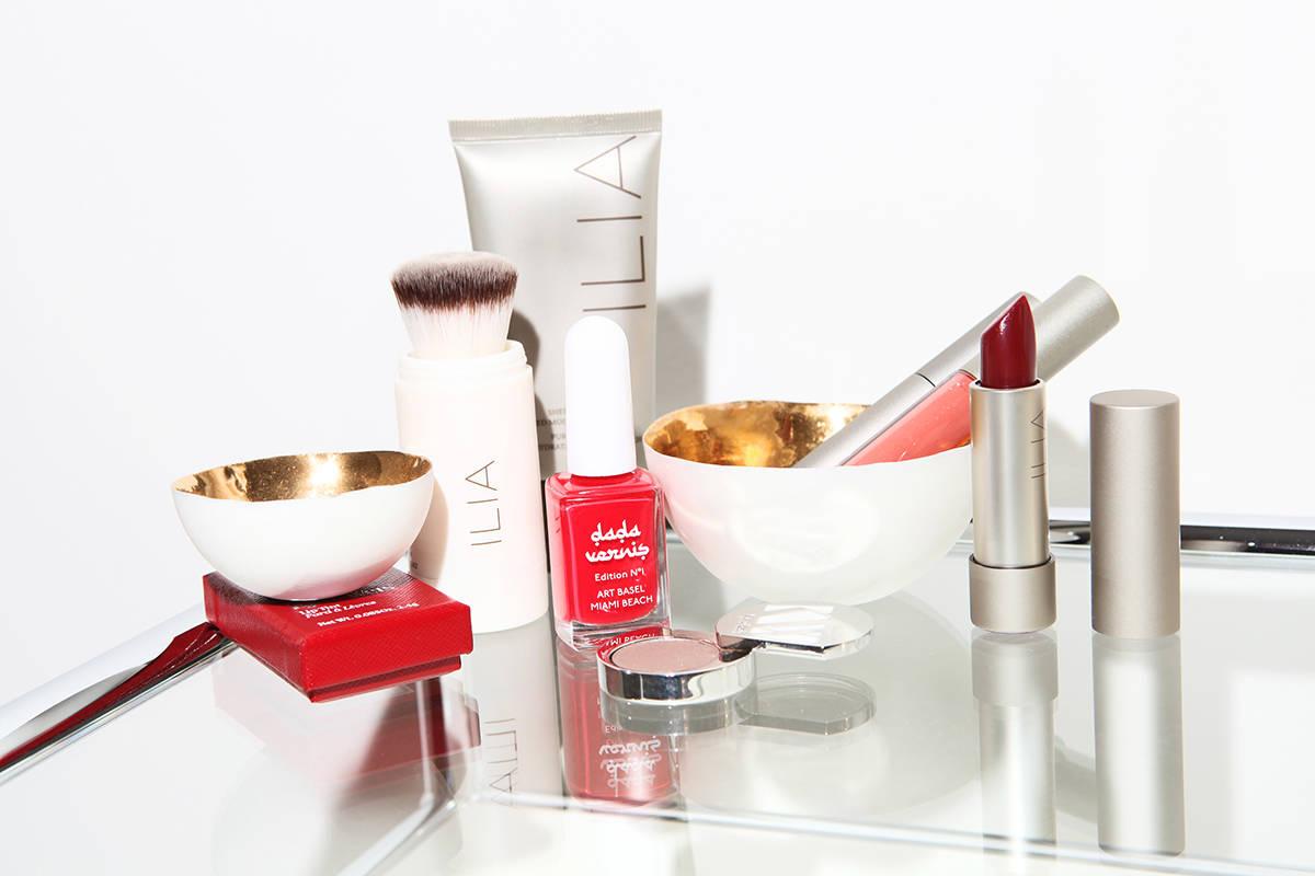 Rahel Morgen ILIA Beauty Kjaer Weis Organic Makeup