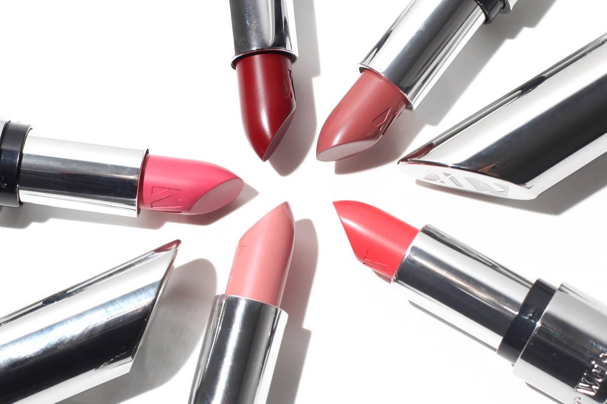Kjaer Weis Lipstick Swatches