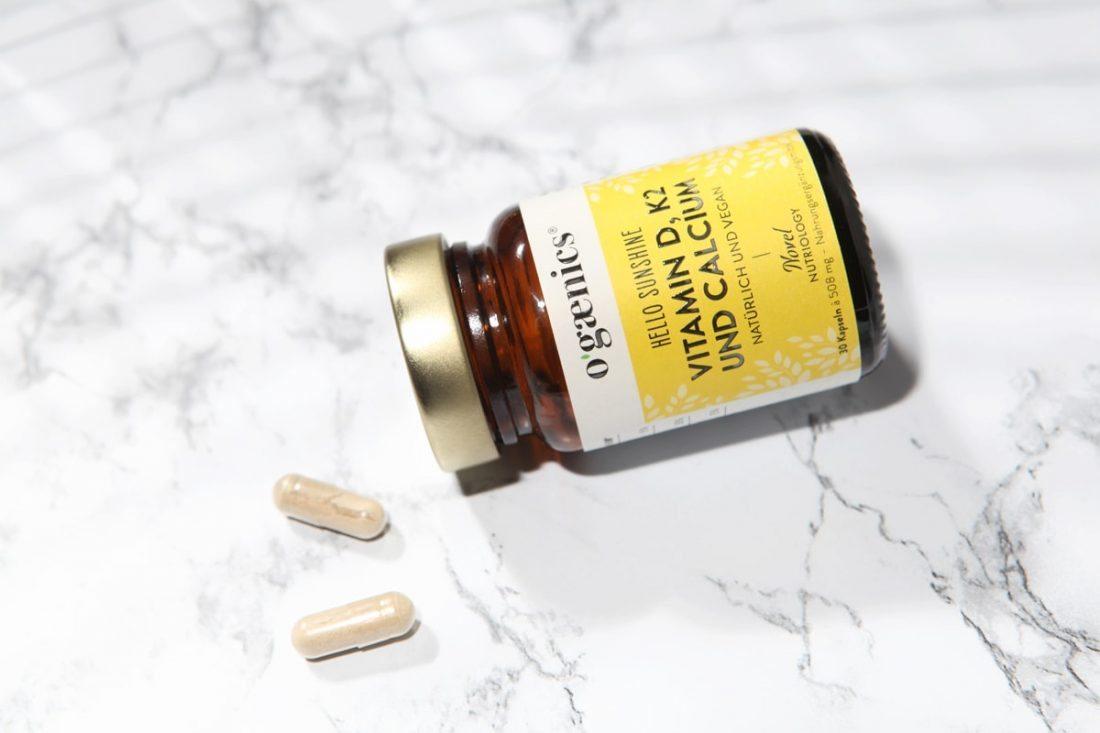 Ogaenics Natürliches Vitamin D K2 Hello Sunshine