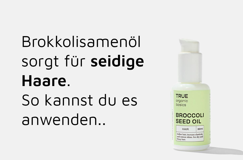 TRUE Organic Basics Bio-Brokkolisamenöl für Haare